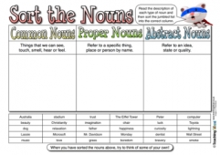 Sort the Nouns