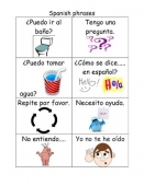 Spanish Classroom Phrases