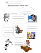 Speech Marks Worksheets