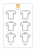 Coloured T-Shirts