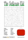 The Suitcase Kid Wordsearch