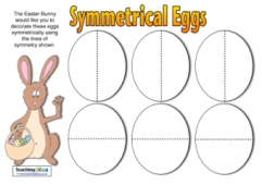 Symmetrical Eggs Maths Challenge