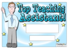 Top Teaching Assistant Certificate (Male)