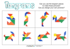 photograph relating to Printable Tangrams Pdf Free known as Tangrams Supplies Training Options