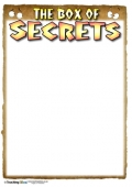 The Box of Secrets Recording Sheet