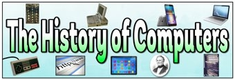 The History of Computers Banner