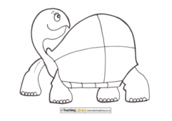 Tortoise Colouring Page 3