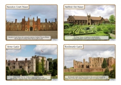 Tudor Buildings - Photo Cards with Labels