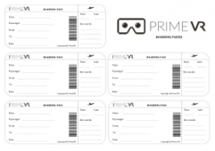 VR Boarding and Exit Tickets