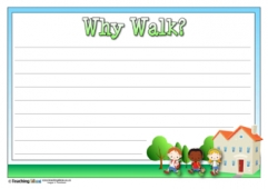 Why Walk? Activity (lined)