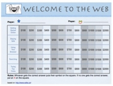 Welcome to the Web Review - Game Card