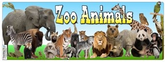Zoo Animals Banner