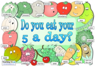 Five a Day Poster