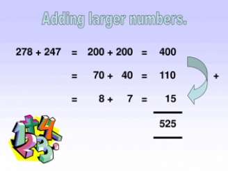 Adding Larger Numbers