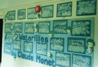 Waterlillies Display