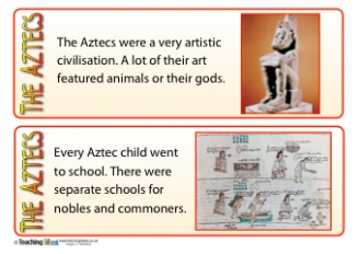 Aztecs Fact Cards