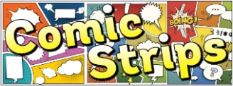 Comic Strips Banner