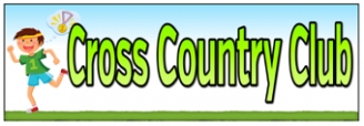 Cross Country Club Banner