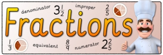 Fractions Banner