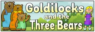 Goldilocks and the Three Bears Banner