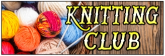 Knitting Club Banner