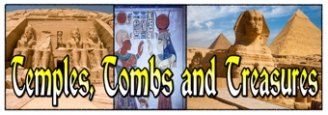Temples, Tombs and Treasures Banner