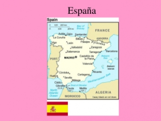 Spain and Spanish