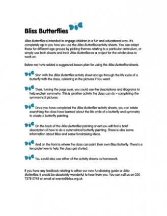Bliss Butterflies Resources