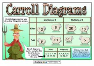 Carroll Diagrams Poster