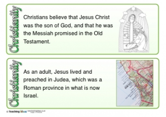 Christianity Fact Cards