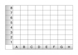 graphic regarding 10x10 Grids Printable referred to as Coordinate Grid Templates Education Designs
