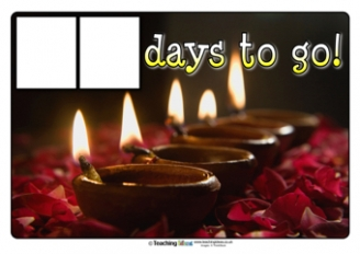 Countdown to Diwali