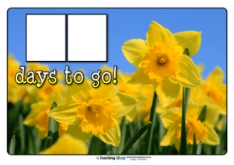 Countdown to St. David's Day