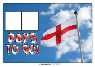 Countdown to St. George's Day Poster