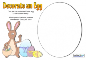 Decorate an Easter Egg