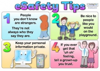 eSafety Tips Poster