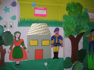 Hansel and Gretel Display