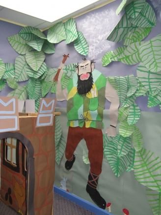 Jack and the Beanstalk Role Play Area