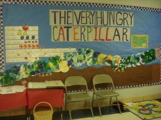 The Very Hungry Caterpillar Display