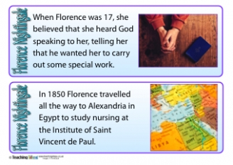 Florence Nightingale Fact Cards