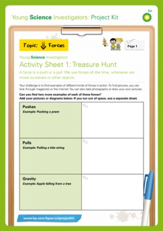 Forces Treasure Hunt