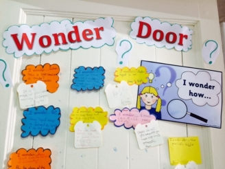 The Wonder Door Display