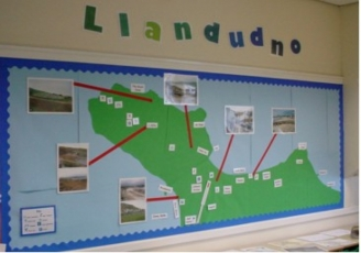 Llandudno Map Display