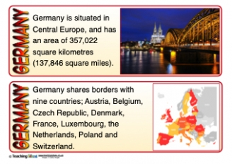 Germany Fact Cards