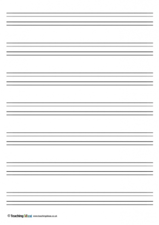 Handwriting Paper Templates