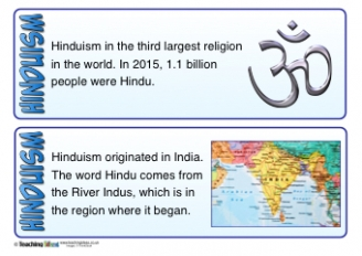 Hinduism Fact Cards