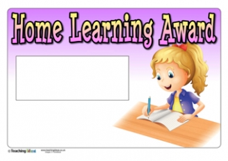 Homework / Home Learning Awards