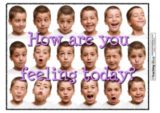 How are you feeling today? Poster