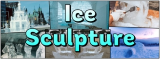 Ice Sculpture Banner