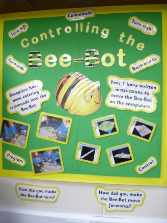 Controlling the Bee-Bot Display